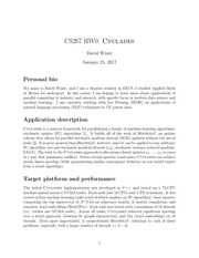 PDF Document cs267 hw0 cyclades