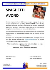 PDF Document uitnodiging spaghettiavond 2016 2017
