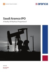 saudi aramco ipo a reality of mythical proportions