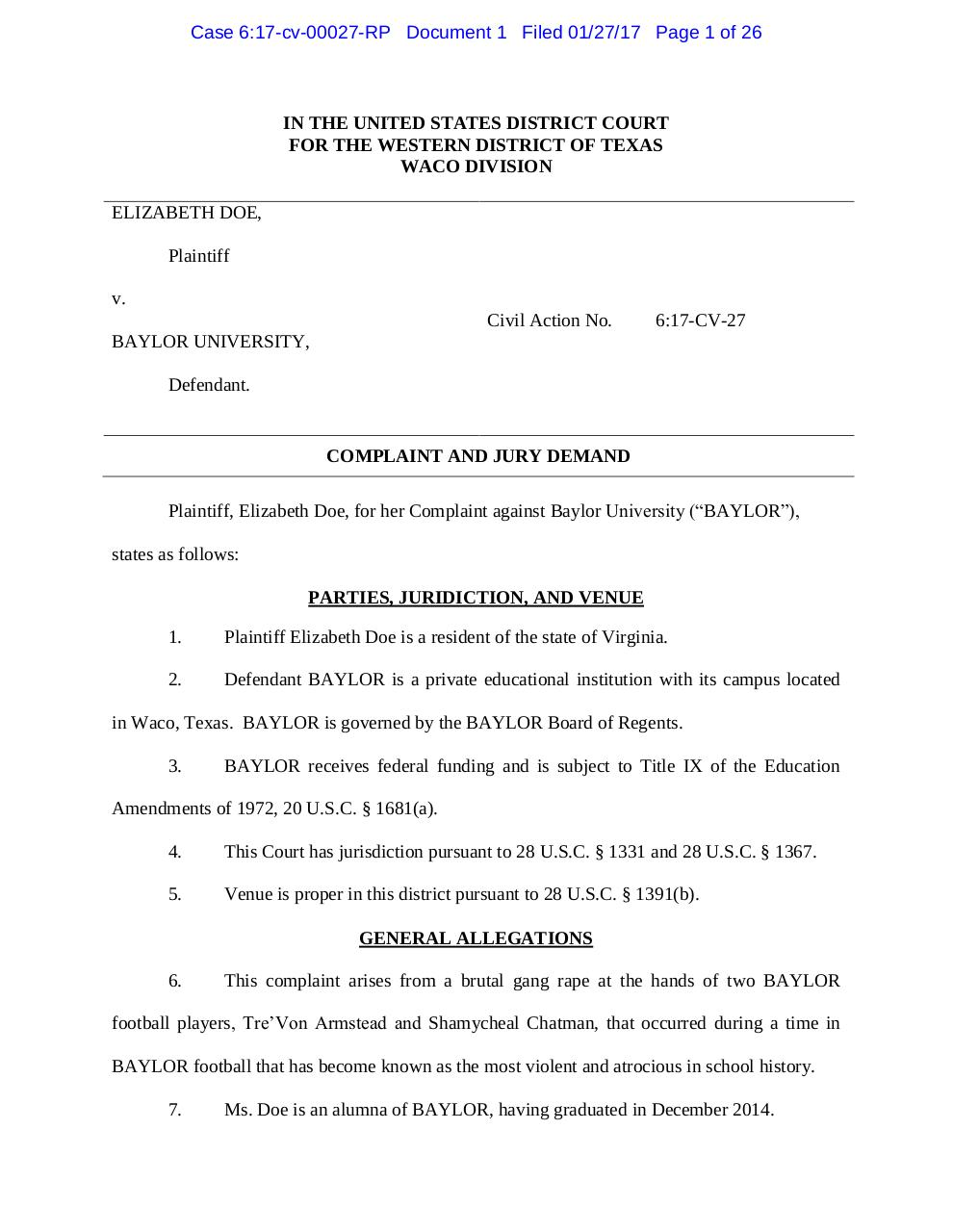 Armstead Lawsuit.pdf - page 1/26