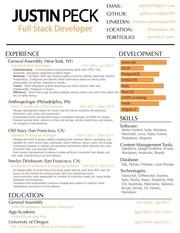 resume justinpeck