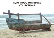recycled boat wood furniture indonesia
