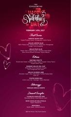valentine s day menu