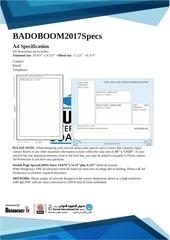 ad spec sheet badoboom