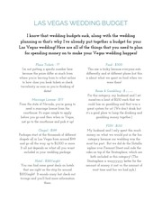 las vegas wedding budget