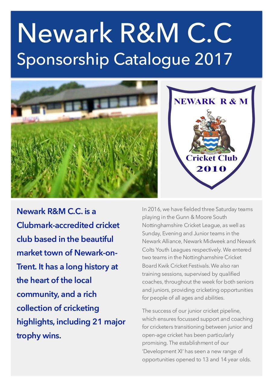 NRM Sponsorship Packages 2017.pdf - page 1/4
