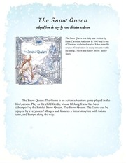PDF Document the snow queen