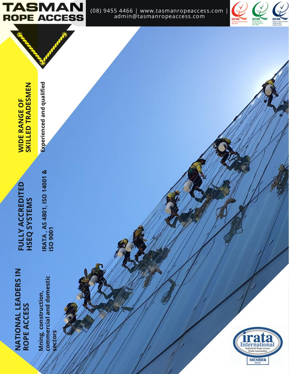 Tasman Rope Access Capability Brochure.pdf - page 1/9