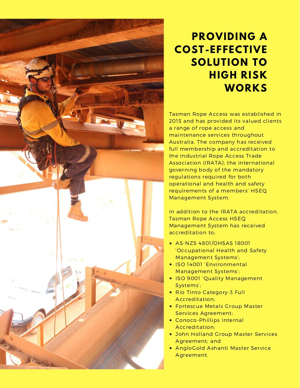 Tasman Rope Access Capability Brochure.pdf - page 2/9