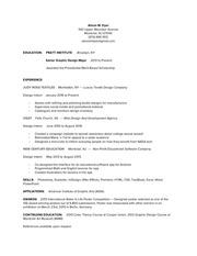 alison m dyer resume
