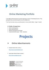 online marketing profile