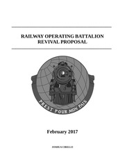 railway battalion revival proposal 2017