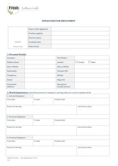 hf job application form new