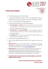 PDF Document guideline
