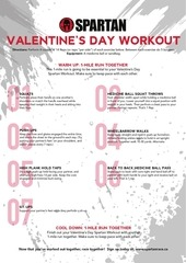 valentinesday workout