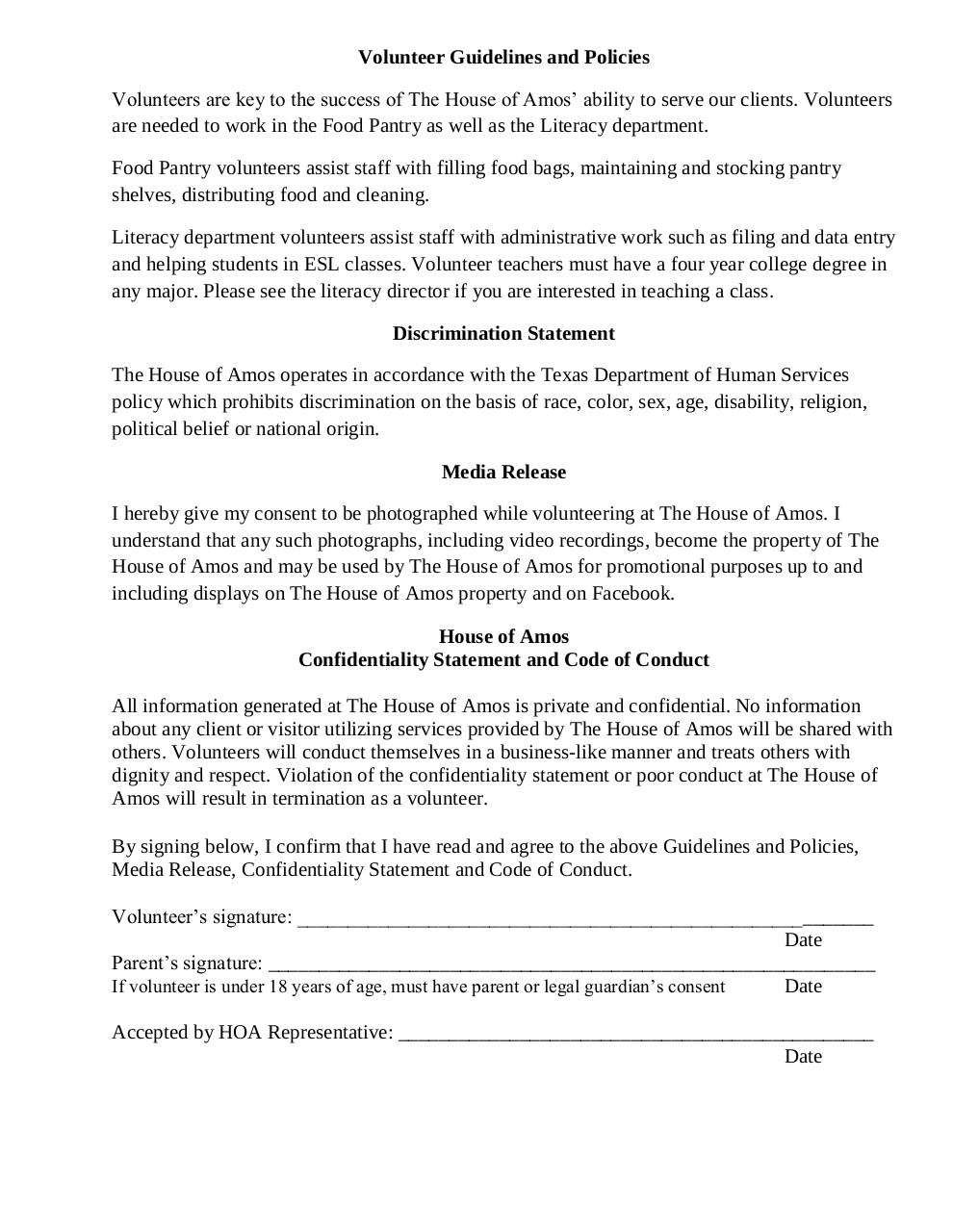 Document preview Volunteer Application.pdf - page 2/2