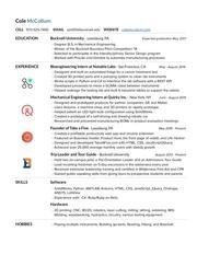 cole mccollum resume1