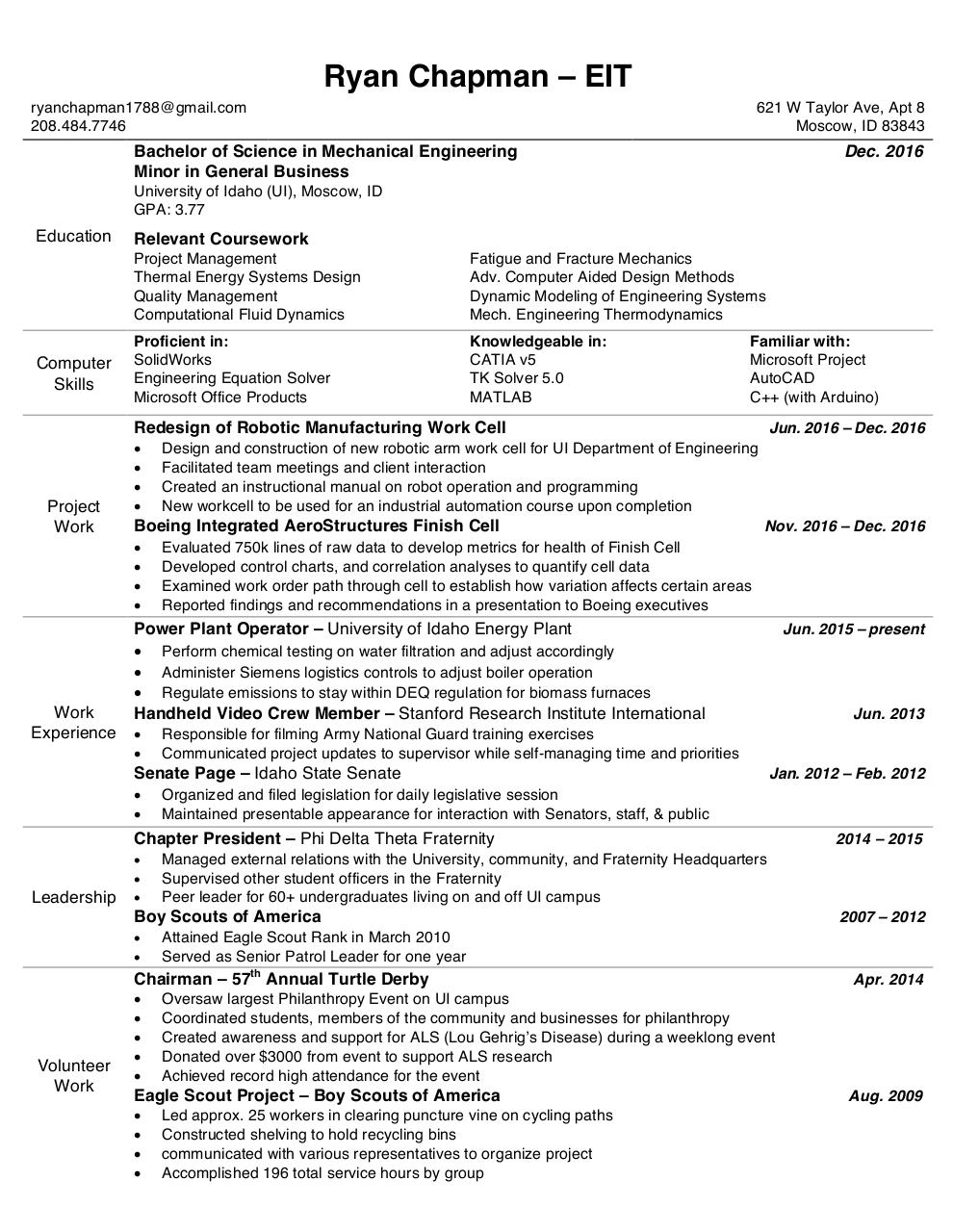 cv resume sles what a college graduate resume