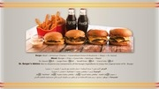 dr burger policy