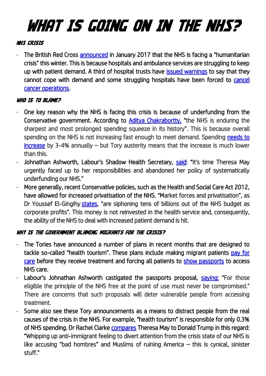 Document preview What is going on in the NHS Feb 2017.pdf - page 1/1