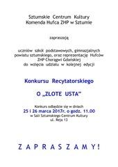 PDF Document regulamin z ote usta 2016