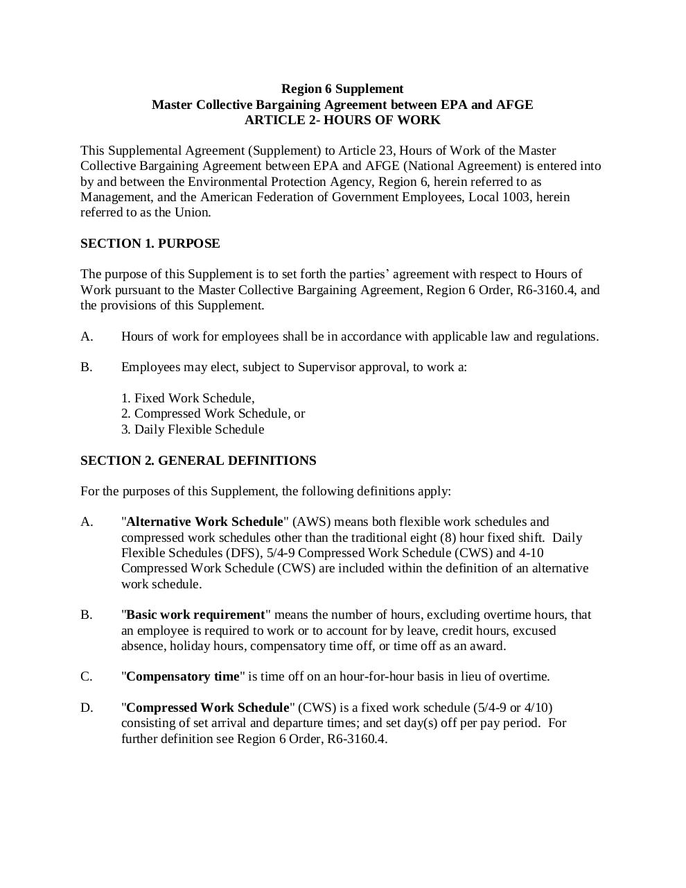 eDFS Hours of Work Supplemental Agreement.pdf - page 1/14