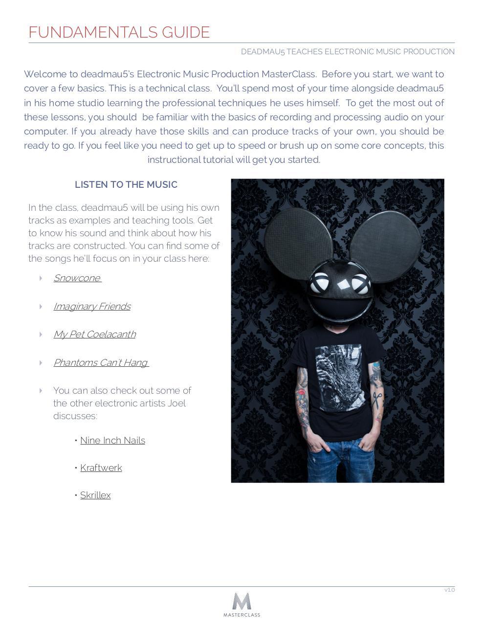 deadmau5 masterclass free download