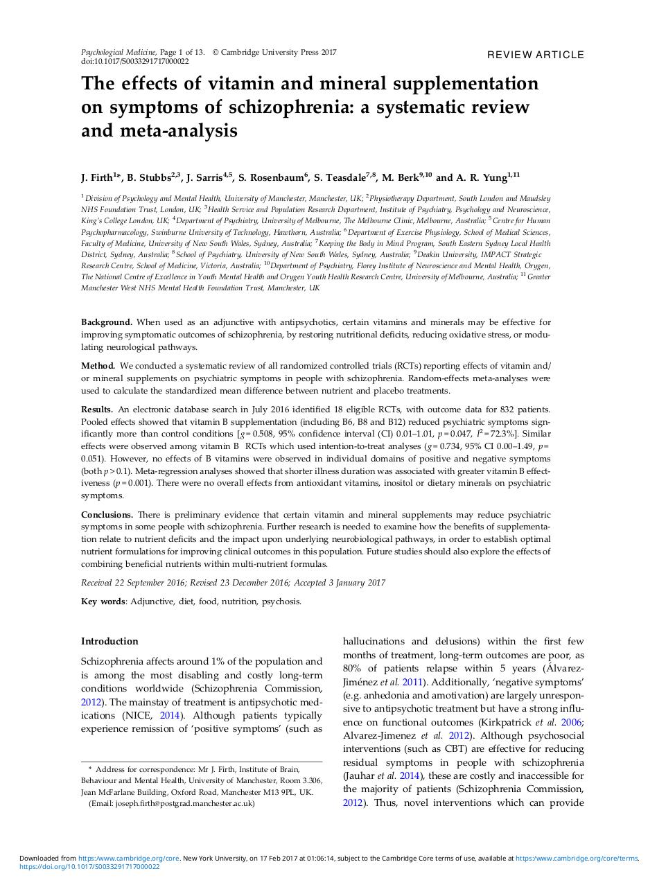 B vitamins and schizophrenia.pdf - page 1/13