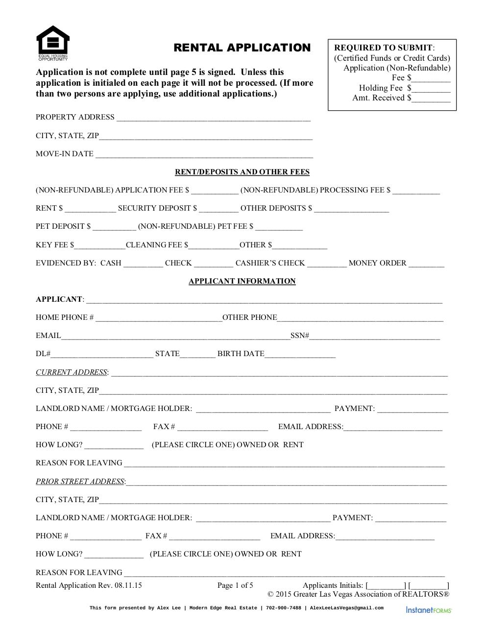 Rental Application Alex (1).pdf - page 1/5