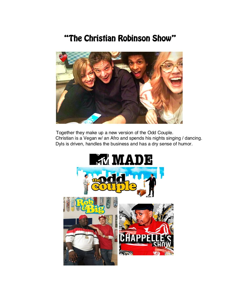 The Christian Robinson Show - One Sheet .pdf - page 3/7
