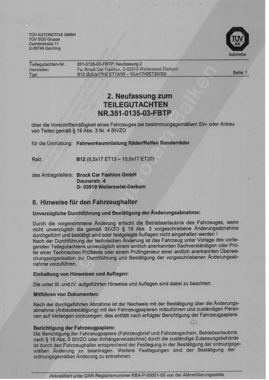 Brock b1 gutachten pdf