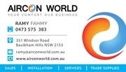 PDF Document aircon world business card pdf 1