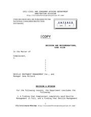 PDF Document judgment against deville