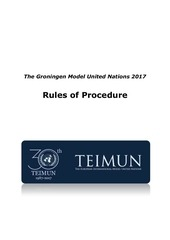 rules of procedure grunnmun