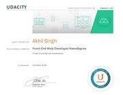 PDF Document nanodegree certificate