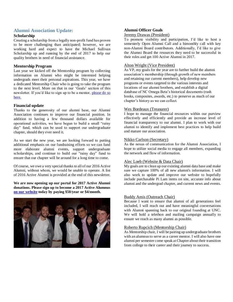 Fall 2016 Newsletter_v4.pdf - page 2/3