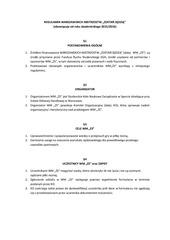 regulamin wmzs iii edycja
