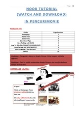 pencurimovie noob guide only