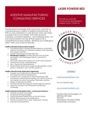 additive manufacturing consulting