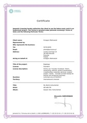 certificate my world instrumental we are fm