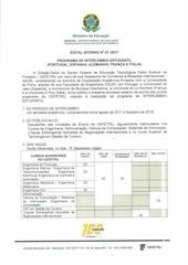PDF Document edital intercambio estudantil 2017