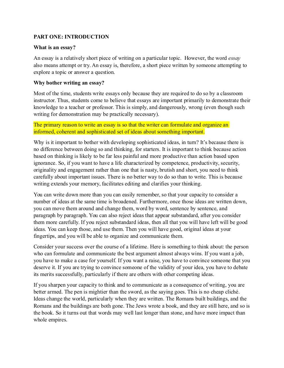jordan peterson essay pdf