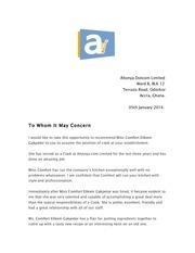 ms comfort auntie connie recommendation letter 2