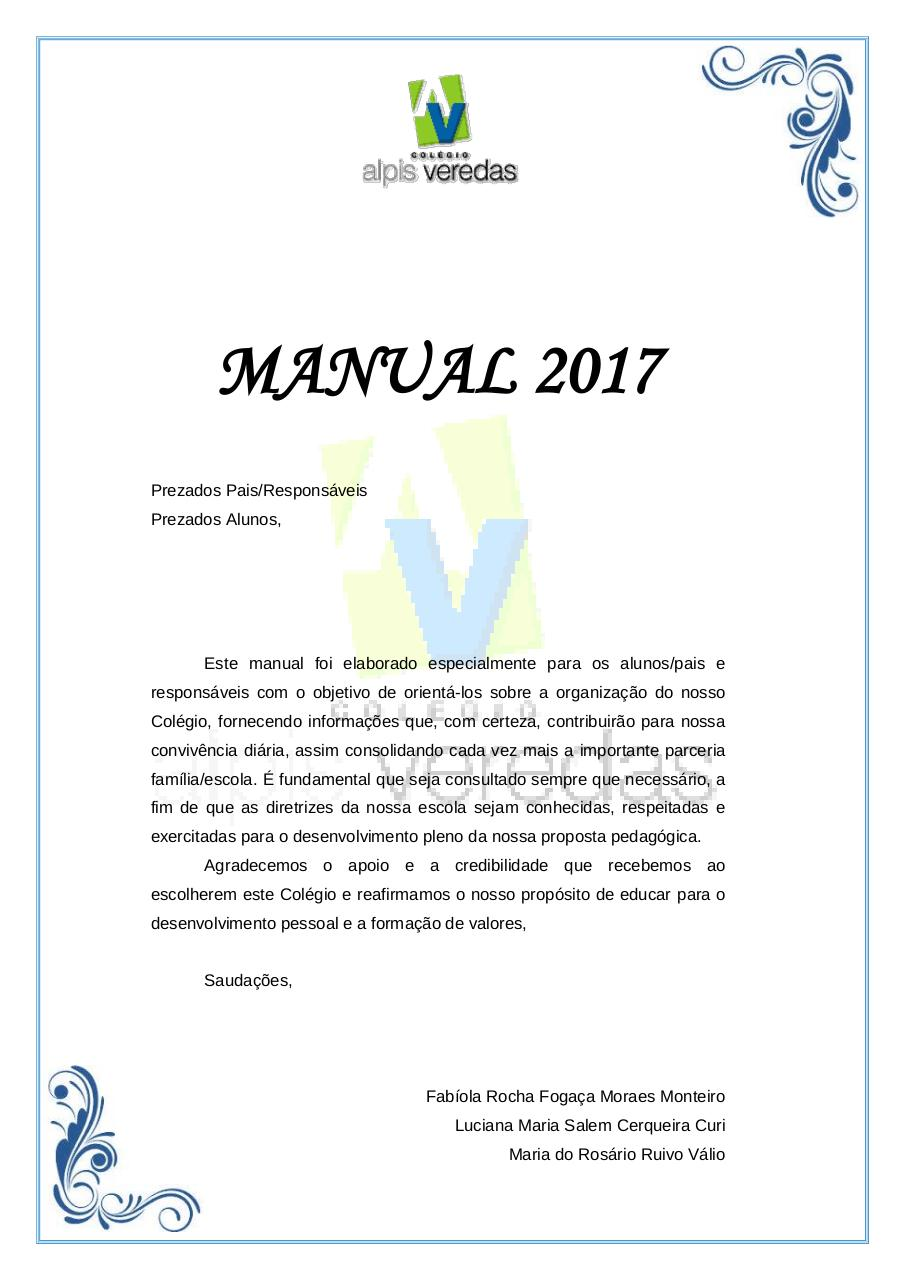 Colegio Alpis Veredas - Manual 2017 - Fundamental.pdf - page 1/13