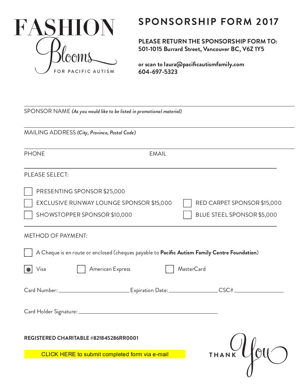 Document preview FashionBlooms-SponsorPkg ALL 2017 (to fill out).pdf - page 5/5