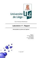 rapport digital labo 1
