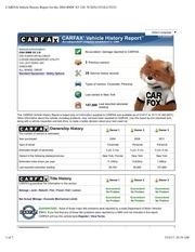 carfax 2004 bmw x5 3 0i 5uxfa13514lu35231