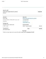 paypal 545606 ransaction details