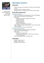 PDF Document cv recent