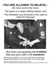 jewish privilege holocaust
